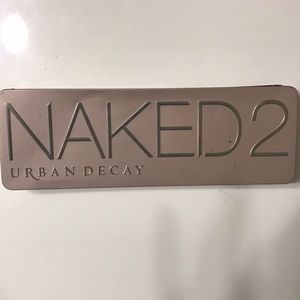 NAKED 2 by Urban Decay used eyeshadow pallet